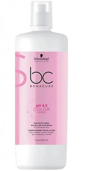 Schwarzkopf BC pH 4.5 Color Freeze Sulfate-Free Shampoo 1000 ml