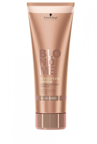 Schwarzkopf BlondMe Detox Purifying Bonding Shampoo 250ml