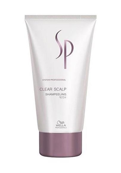 Wella SP System Professional Clear Scalp Shampeeling 150 ml