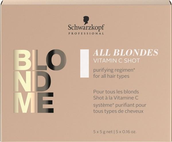 Schwarzkopf BlondMe All Blondes Detox Vitamin C Shot 5 x 5 g