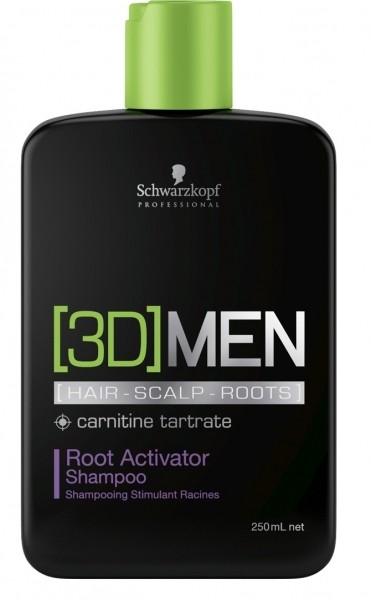Schwarzkopf - [3D]MEN Aktivierendes Shampoo