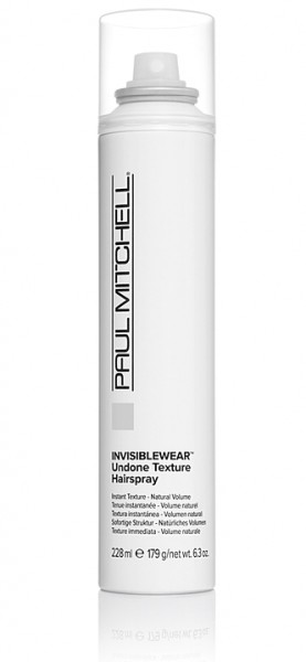 Paul Mitchell Invisiblewear Undone Texture Hairspray 228ml