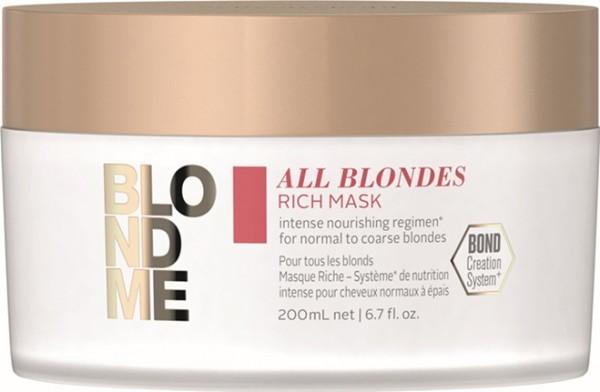 Schwarzkopf BlondMe All Blondes Rich Maske 200ml