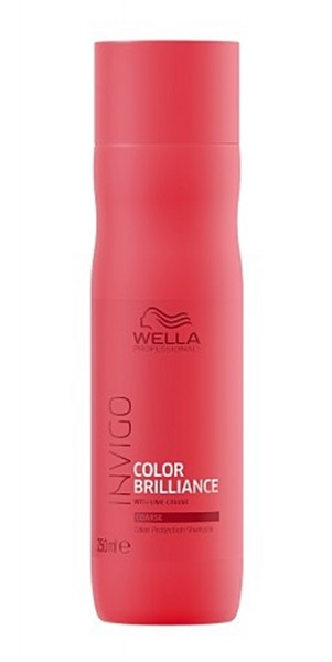 Wella Invigo Color Brilliance Protection Shampoo kräftiges/dickes coloriertes Haar 250ml