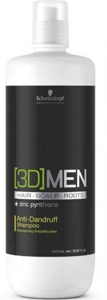 Schwarzkopf - [3D]MEN Anti Dandruff Shampoo 1000 ml