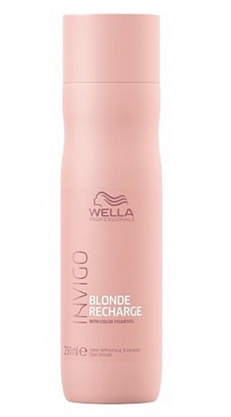 Wella Invigo Blonde Recharge Cool Blonde  Refreshing Shampoo 250ml
