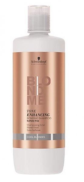 Schwarzkopf BlondMe Tone Enhancing Bonding Shampoo Cool Blondes 1000 ml