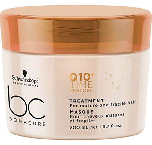 Schwarzkopf BC Q10 Time Restore Ageless Taming Treatment 200 ml