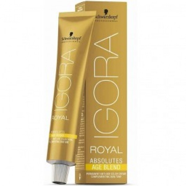 Schwarzkopf Igora Royal Absolute Age Blend 6-580 dunkelblond gold rot 60 ml