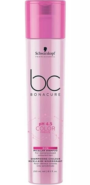 Schwarzkopf BC pH 4.5 Color Freeze Rich Shampoo 250 ml
