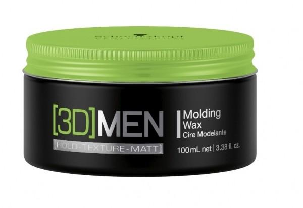 Schwarzkopf - [3D]MEN Styling Molding Wax 100 ml