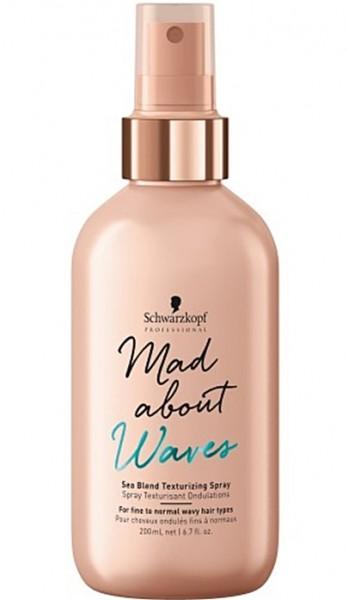 Schwarzkopf Mad About Waves Sea Blend Texturizing Hairspray 200 ml