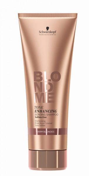 Schwarzkopf BlondMe Tone Enhancing Bonding Shampoo Warm Blondes 250 ml