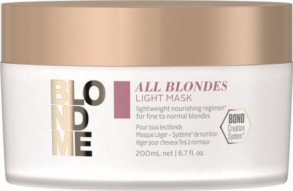 Schwarzkopf BlondMe All Blondes Light Maske 200 m