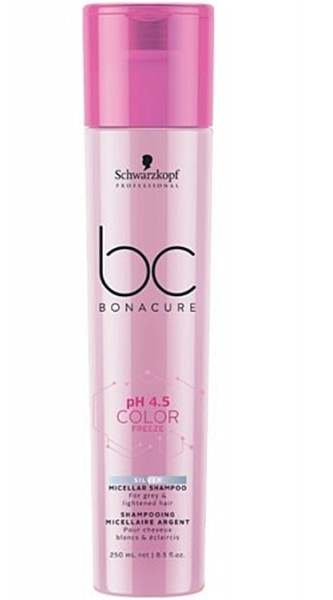 Schwarzkopf BC pH 4.5 Color Freeze Silver Shampoo 250 ml