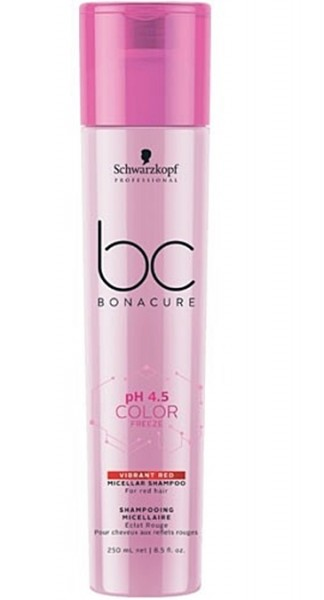 Schwarzkopf BC pH 4.5 Color Freeze Vibrant Red Shampoo 250 ml