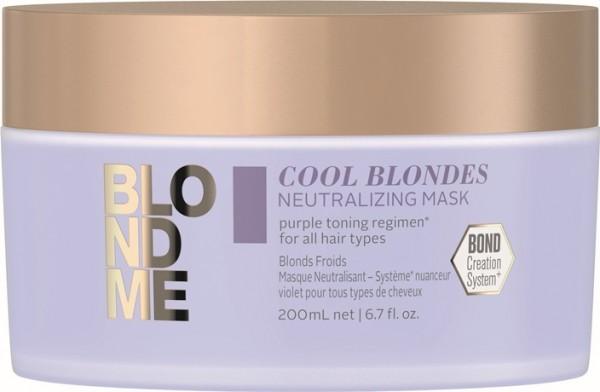 Schwarzkopf BlondMe Cool Blondes Neutralizing Mask 200 ml