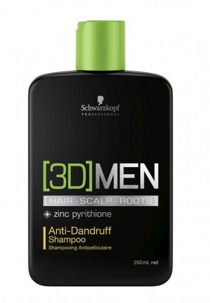 Schwarzkopf - [3D]MEN Antischuppen Shampoo 250 ml