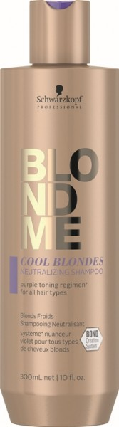 Schwarzkopf Blondme Cool Blondes Neutralizing Shampoo 300ml
